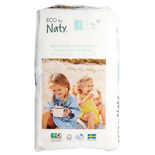 Πάνες No 3, 4-9 kg, 50 τεμάχια, Naty
