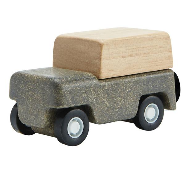 Τζιπ, Plantoys, ξύλινο, οικολογικό, εκπαιδευτικό, παιχνίδι