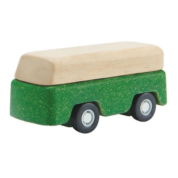 Λεωφορείο, Plantoys, ξύλινο, οικολογικό, εκπαιδευτικό, παιχνίδι