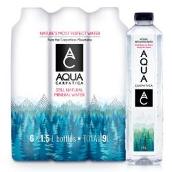 Φυσικό Μεταλλικό Νερό, 6 x 1,5 lt, Aqua Carpatica