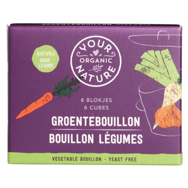 Βιολογικοί Κύβοι Λαχανικών, Χωρίς Μαγιά, 6 τεμάχια, Bio, Your Organic Nature