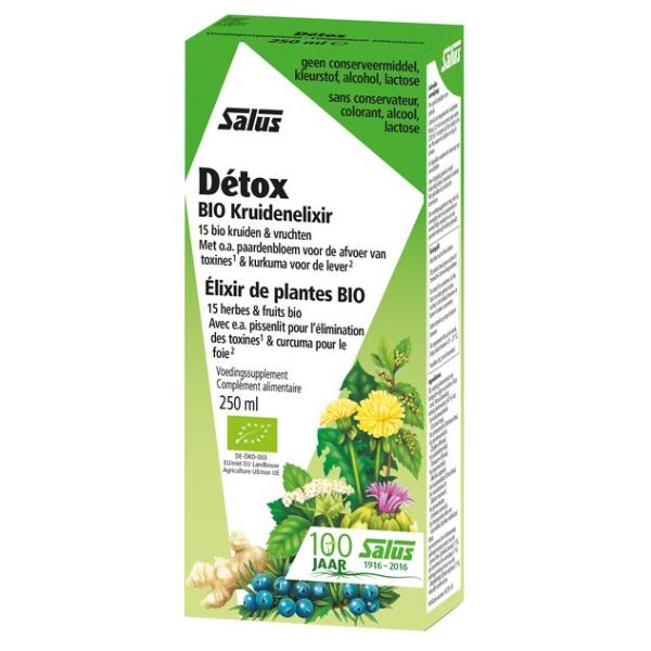 Βιολογικό Detox, 250 ml, Bio, Salus