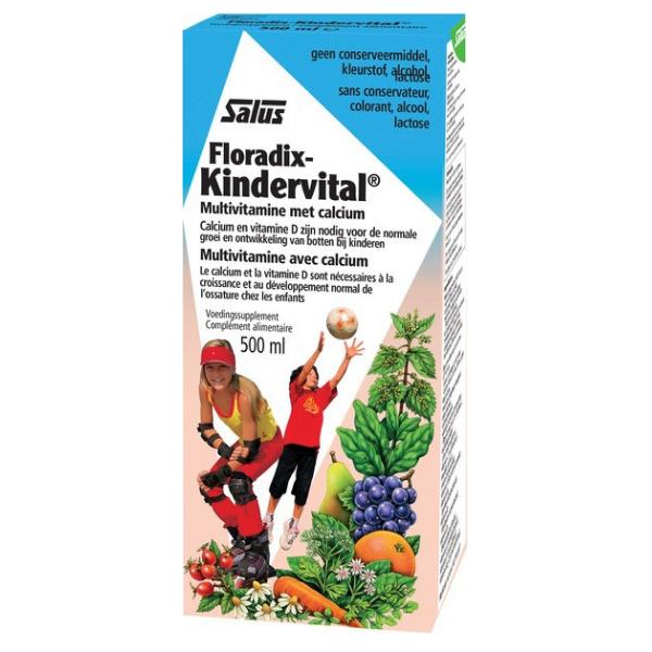 Kindervital με Ασβέστιο, 500 ml, Salus