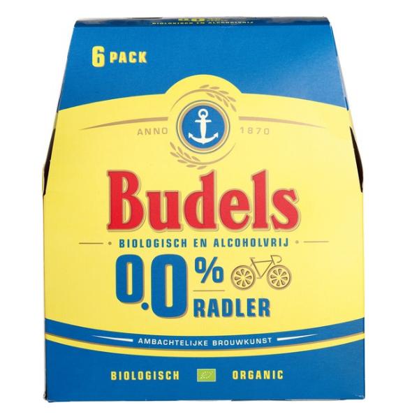 ΜΠΥΡΑ BIO RADLER 0.0% ΑΛΚΟΟΛ 6*330ΜΛ BUDELS