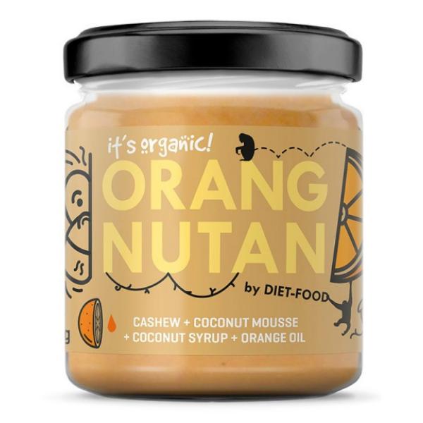 Βιολογική Κρέμα Κάσιους με Καρύδα & Πορτοκάλι Citronout, 200 γρ., Bio, Diet Food
