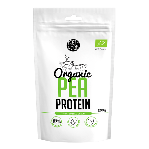 Βιολογική Πρωτεΐνη Αρακά, 200 γρ., Bio, Diet Food