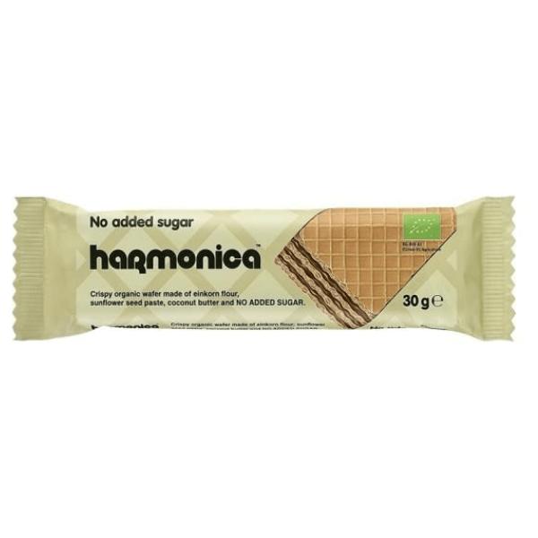 Βιολογική Γκοφρέτα Μονόκοκκου Σίτου, Χωρίς Ζάχαρη, 30 γρ., Bio, Harmonica