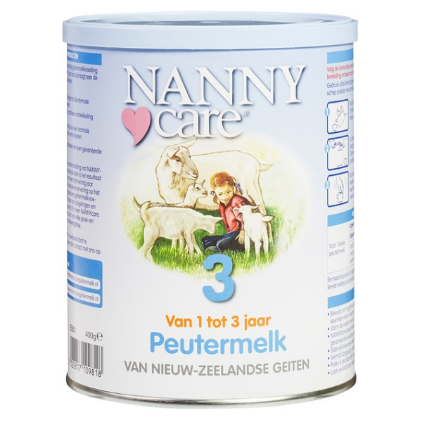 Γάλα Κατσικίσιο σε Σκόνη 400γρ., Nanny Care