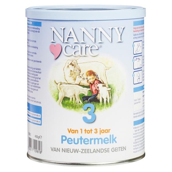 Γάλα Κατσικίσιο σε Σκόνη No3 400γρ., Nanny Care