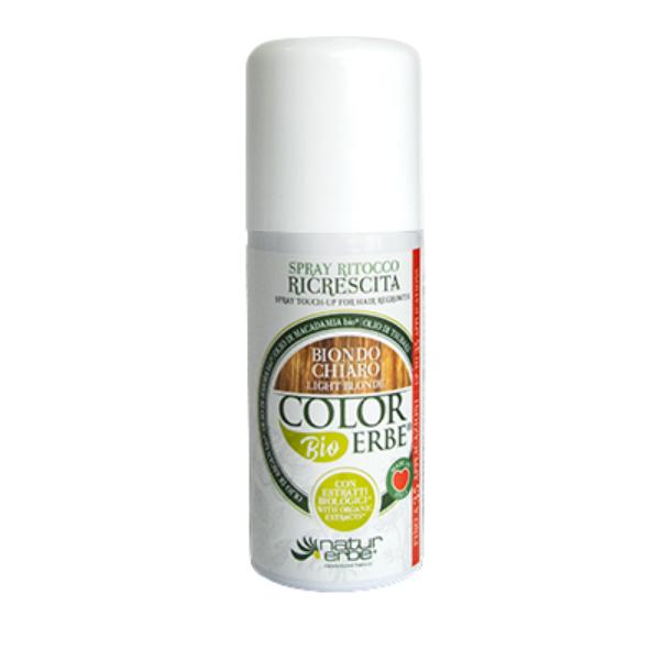 Βαφή μαλλιών σε σπρέι-Ξανθό ανοιχτό, 100ml, color erbe, Natur erbe