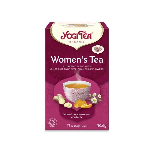 Βιολογικό Τσάι Women's 17 φακελάκια 30γρ. Bio, Yogi Tea