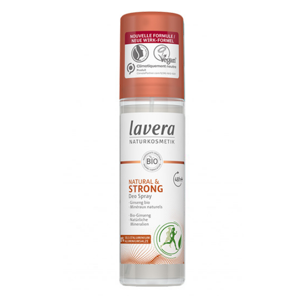 Αποσμητικό Σπρέι Strong, 75 ml, Lavera
