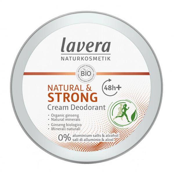 Κρεμώδες Αποσμητικό Natural & Strong, 50 ml, Lavera