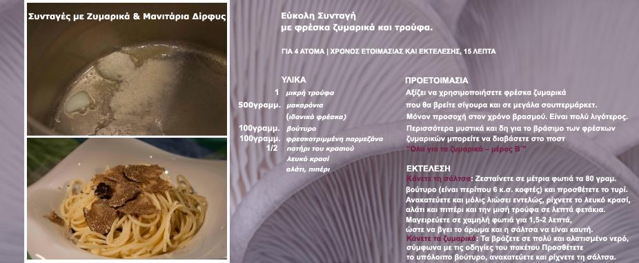 Συνταγη τρουφα μακαρονι